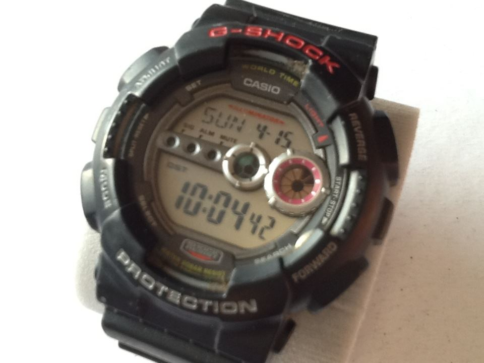 factory price a3d8b c9bd3 Details about Pre-owned: Casio 3263 G-Shock Men's Watch. GD-100. Black