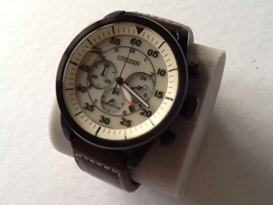 efe2d8e96 Pre-owned: Citizen Men's Eco-Drive Aviator Chronograph Watch. CA4215-04W  Black.