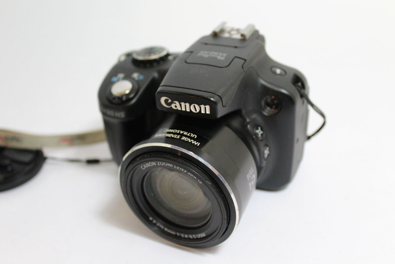 canon powershot sx50 hs digital camera 12 1 mp 50x zoom 2 8 lcd ebay. Black Bedroom Furniture Sets. Home Design Ideas