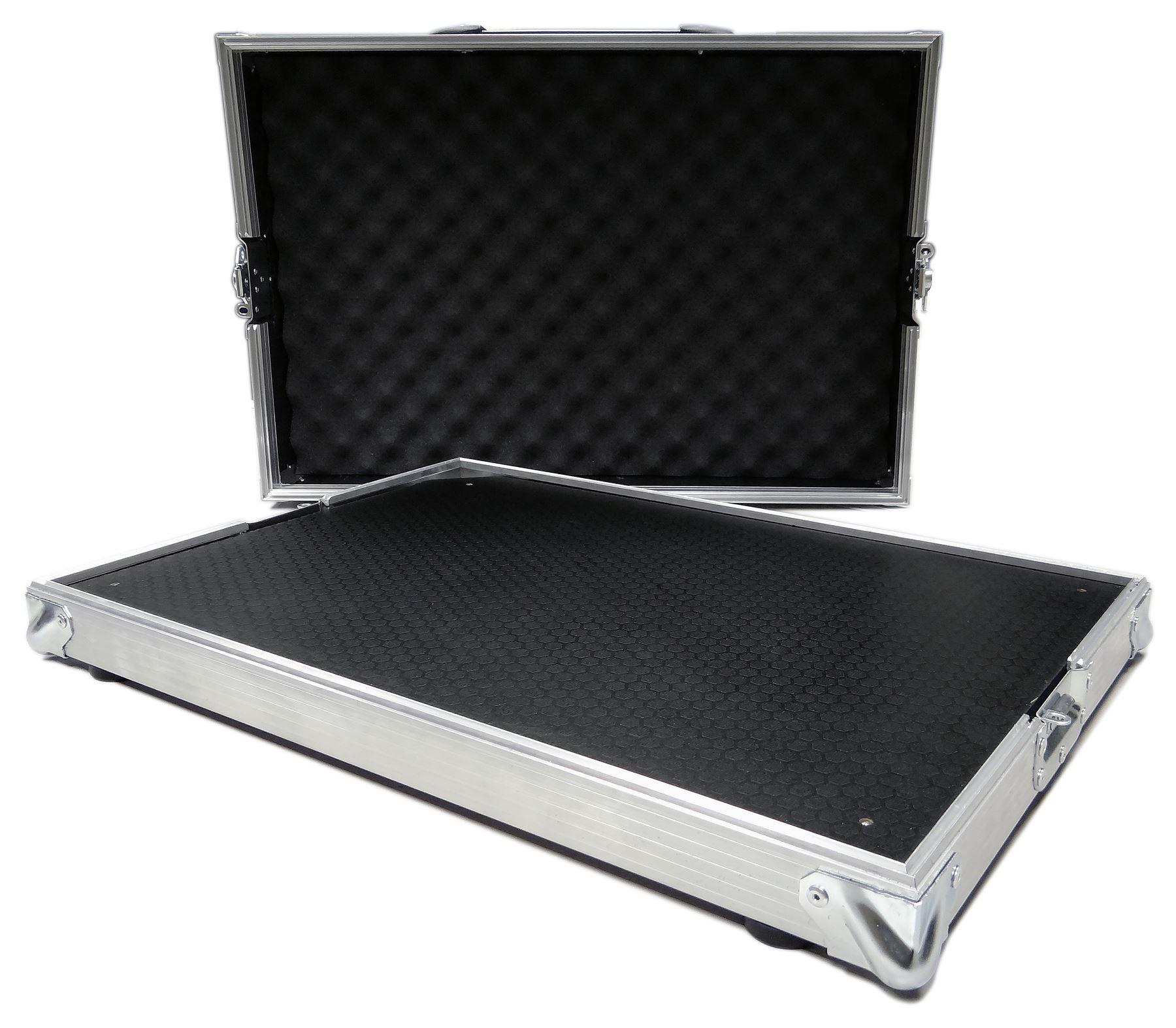 guitar effects pedalboard flight case pedal board 640x380 mm ebay. Black Bedroom Furniture Sets. Home Design Ideas