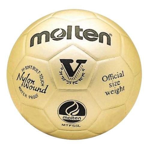 Molten MTV5SLGL Gold Presentation Ornamental Trophy Leather Volleyball