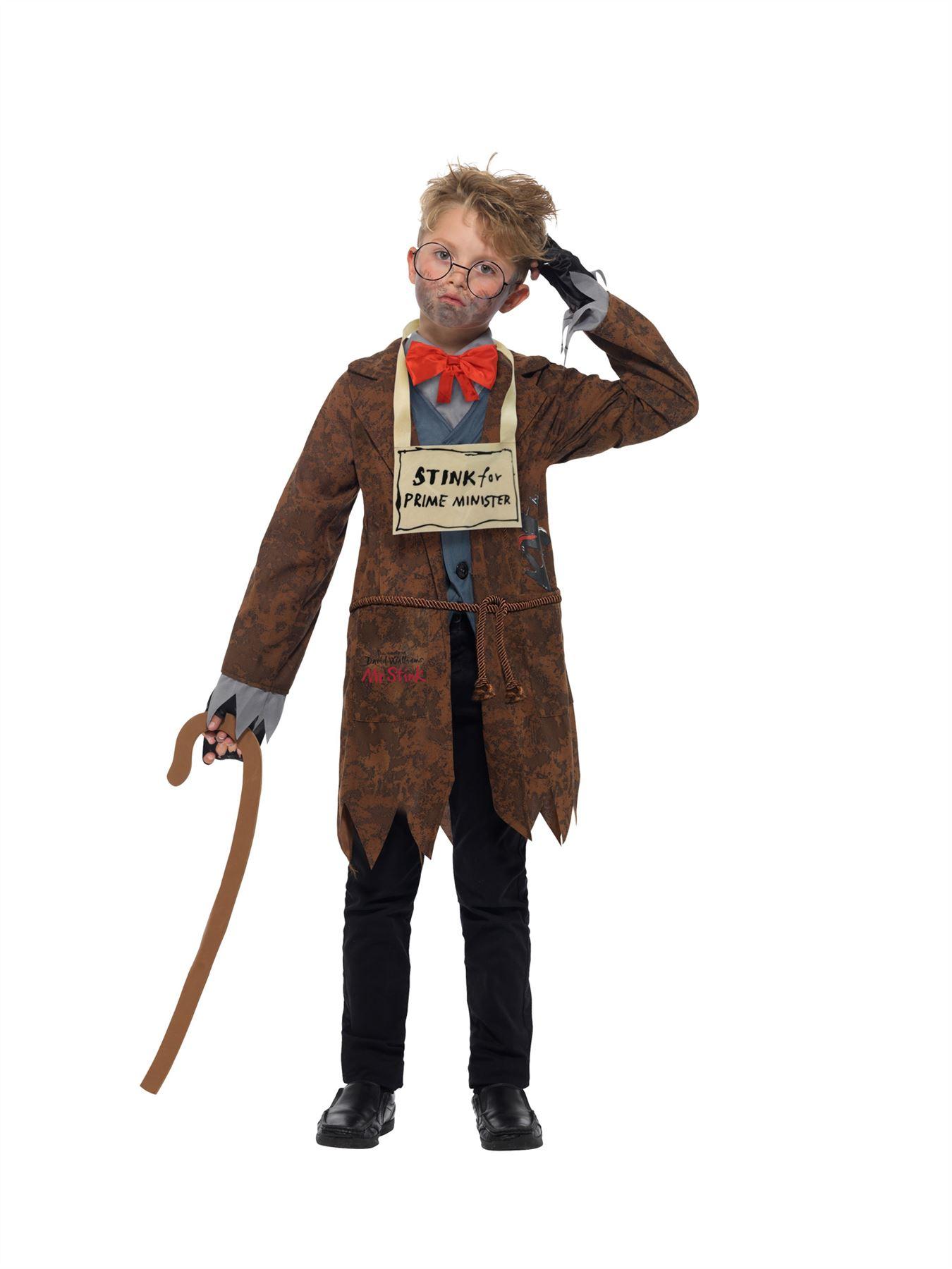 Childs David Walliams Grandpa/'s Great Escape robe fantaisie Kit Livre Jour Par Smiffys