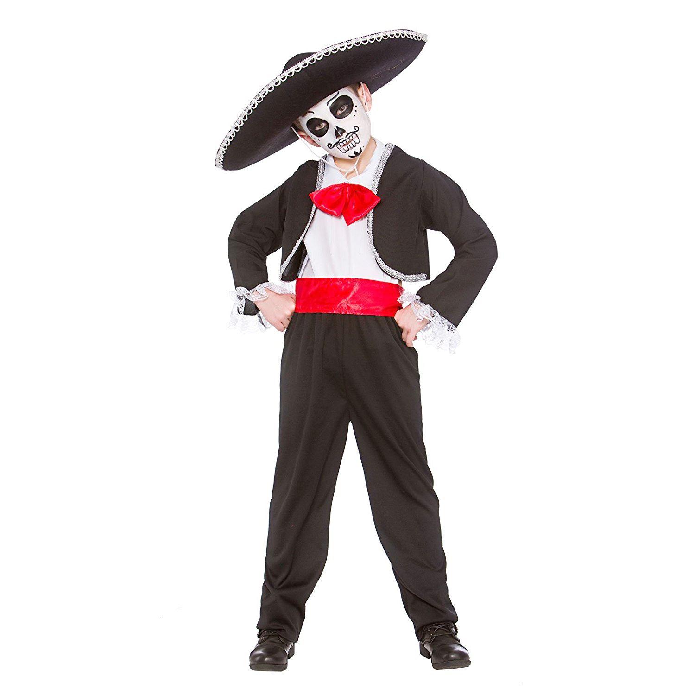 Niños día de lo muertos disfraces Halloween mexicana niño disfraz. haga  clic en la imagen para ampliarla 62e27112a10