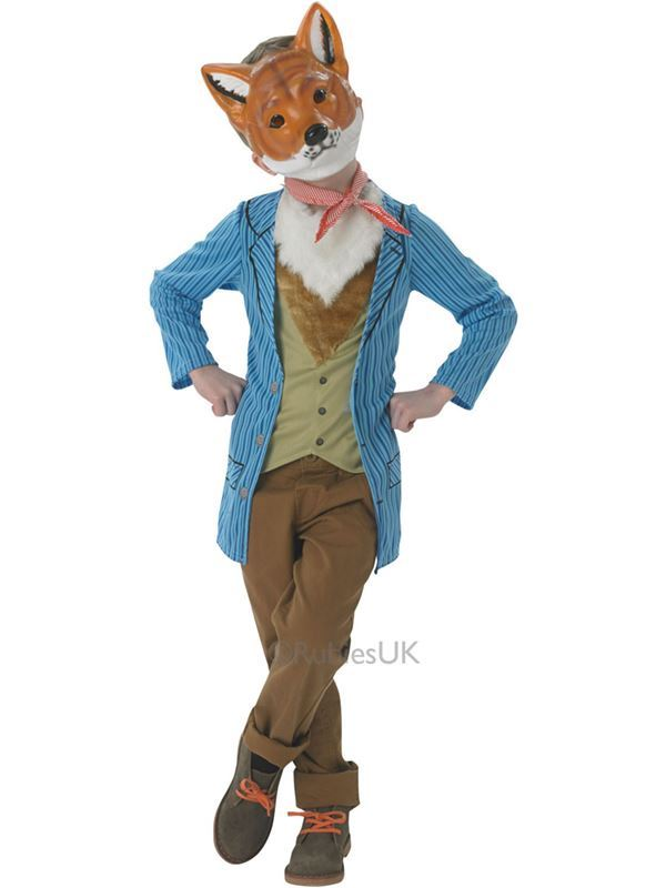 Kids Fantastic Mr Fox Costume Book Day Week Fancy Dress Child Outfit Ebay