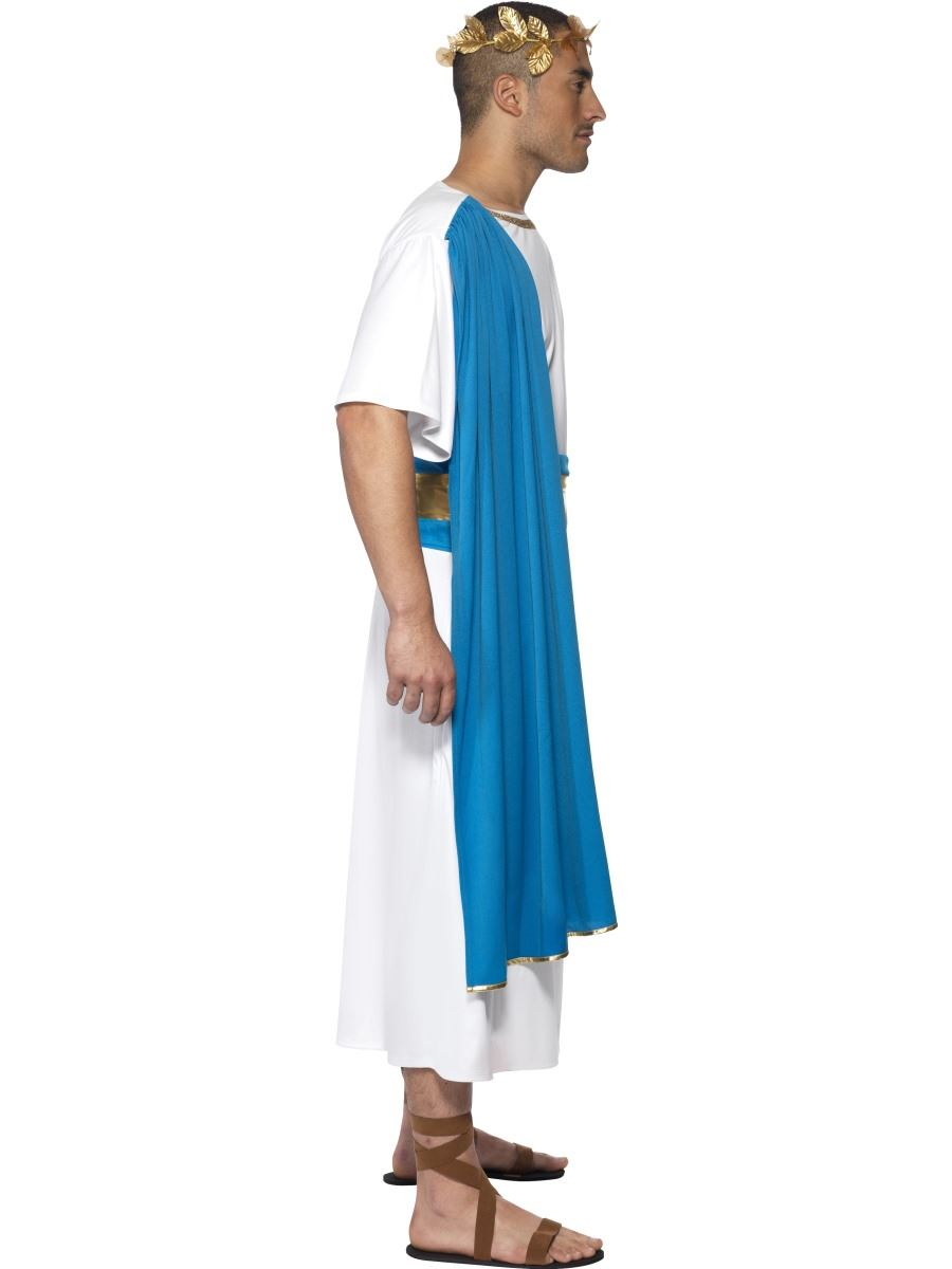 Mens Roman Senator Emperor Toga Caesar Greek Fancy Dress Costume | eBay