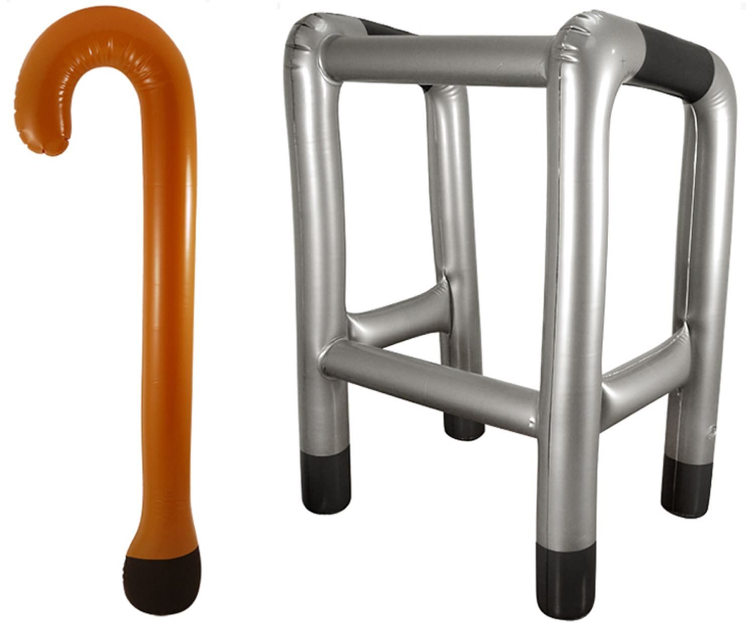 Inflatable Walking Stick Zimmer Frame Zimmerframe Novelty Party