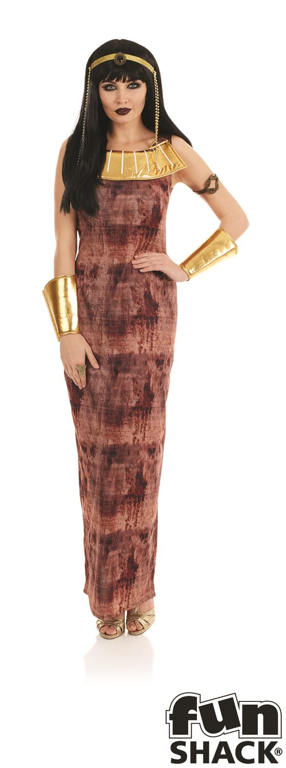 Ladies-Queen-Cleopatra-Costume-Adults-Ancient-Egyptian-Fancy-  sc 1 st  eBay & Ladies Queen Cleopatra Costume Adults Ancient Egyptian Fancy Dress ...