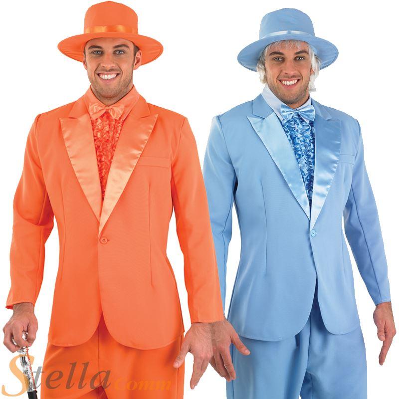 315f9ecc3e3 Details about Mens Tuxedo Pimp Suit Dumb & Dumber Harry & Lloyd Stag Do Fancy  Dress Costume