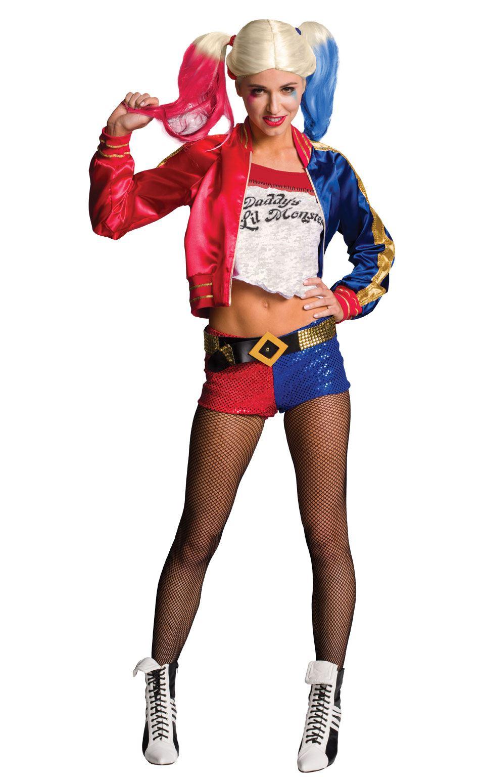 Mujer Harley Quinn Suicide Squad Disfraz De Halloween Disfraz Ebay