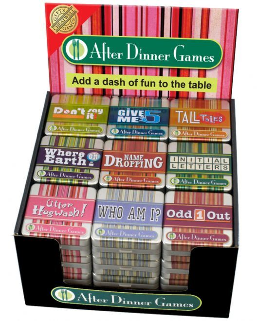 Awesome Dinner Party Game Part - 5: After-Dinner-Game-Tins-Fun-Family-Dinner-Party-