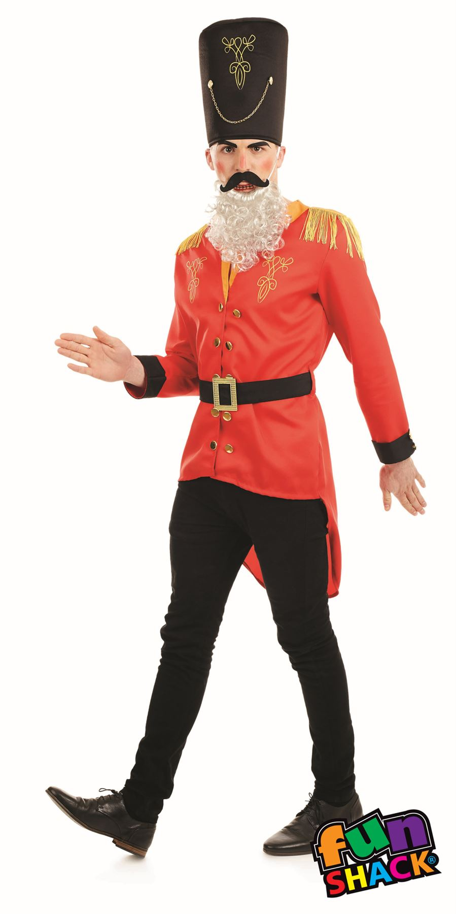 Mens nutcracker costume christmas toy soldier ballet play fancy mens nutcracker costume christmas toy soldier ballet play solutioingenieria Images