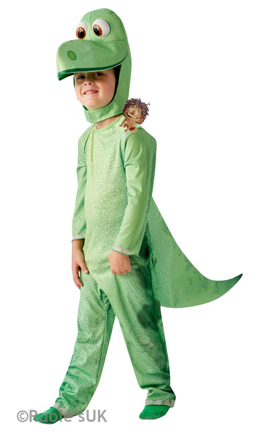 Arlo-The-Good-Dinosaur-Costume-Boys-Girls-Child-  sc 1 st  eBay & Arlo The Good Dinosaur Costume Boys Girls Child Disney Animal Fancy ...