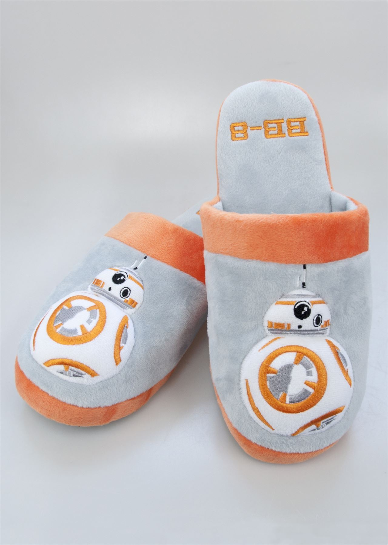 a5b1c54b6c43 Official Star Wars Slippers Last Jedi Adult Slip On Mule Slippers Size 5-10.  Click on the Image to Enlarge