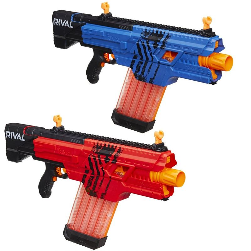 nerf rival khaos mxvi 4000 rapid fire motorized 40 shot