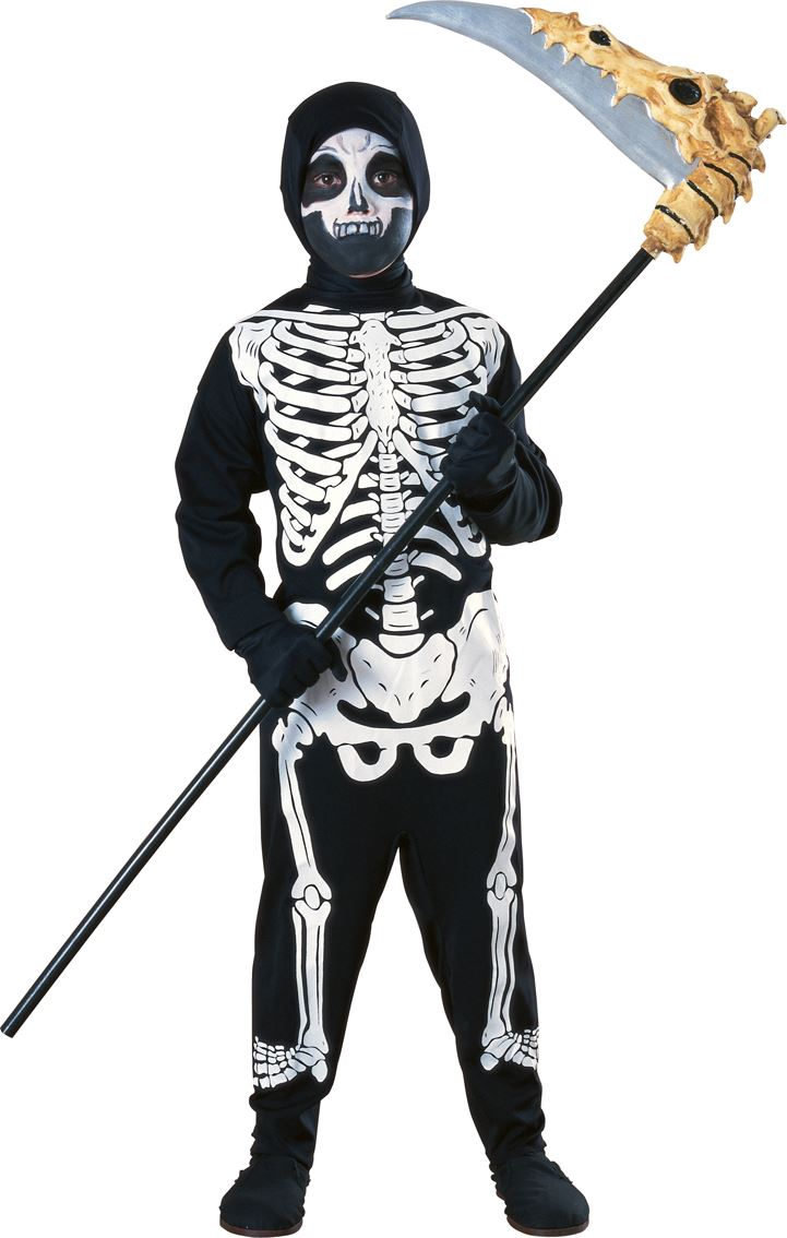 Halloween Skeleton Costume Kids.Details About Boys Skeleton Costume Child Haunted House Halloween Fancy Dress Kids Outfit