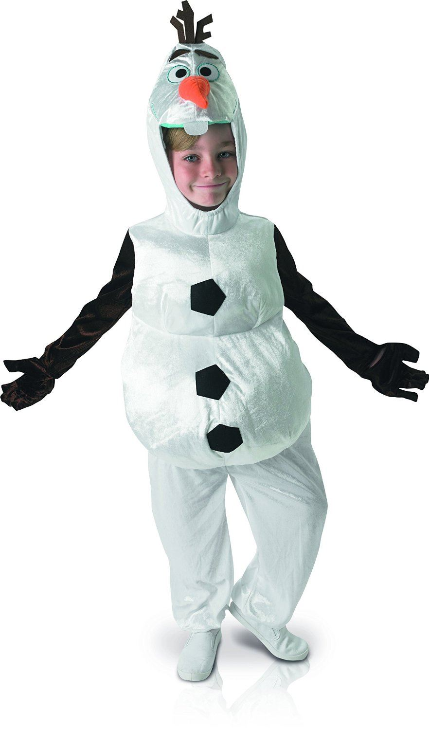 Kids-Olaf-Frozen-Costume-Fancy-Dress-Disney-Snowman-  sc 1 st  eBay & Kids Olaf Frozen Costume Fancy Dress Disney Snowman Boys Girls Child ...