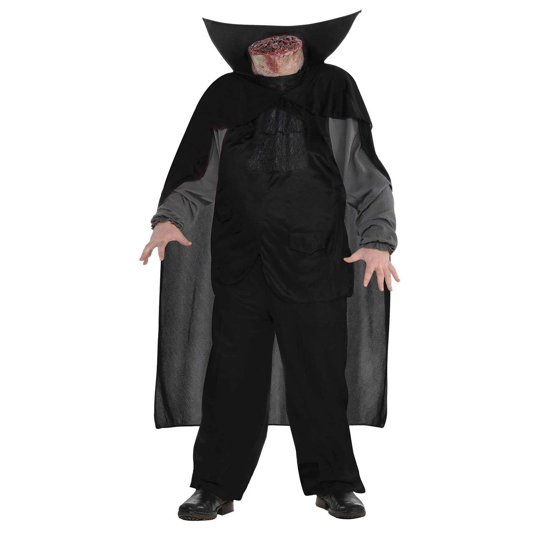 Adulto Sin Cabeza Jinete Disfraz De Halloween Beheaded Hombre - Disfraces-sin-cabeza