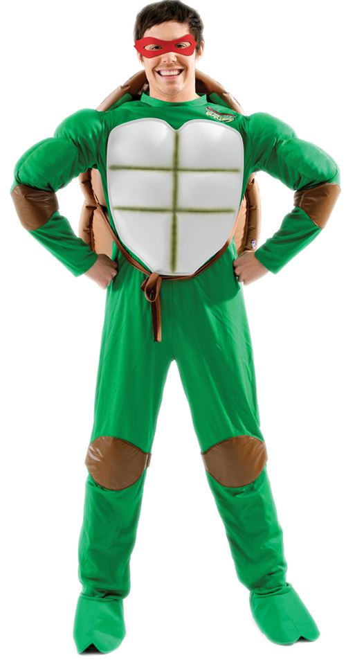 mens teenage mutant ninja turtles costume retro 80s