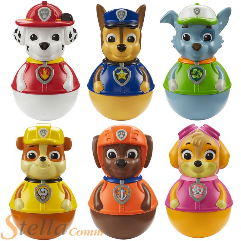 Paw Patrol Weeble Wobble Toy Figures   eBay