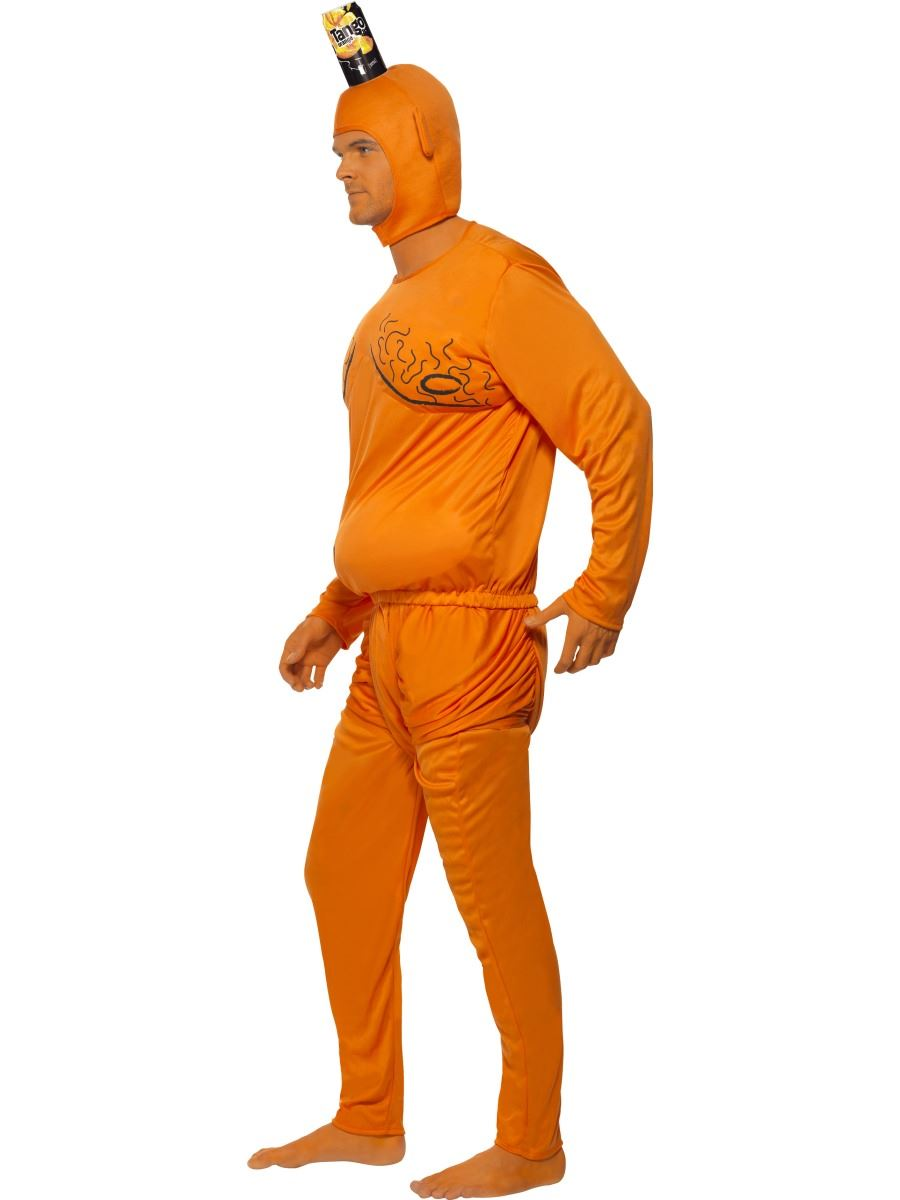 ... Picture 2 of 3 ...  sc 1 st  eBay & 1990s Orange Tango Man Fancy Dress Costume With Padded Body Drink ...