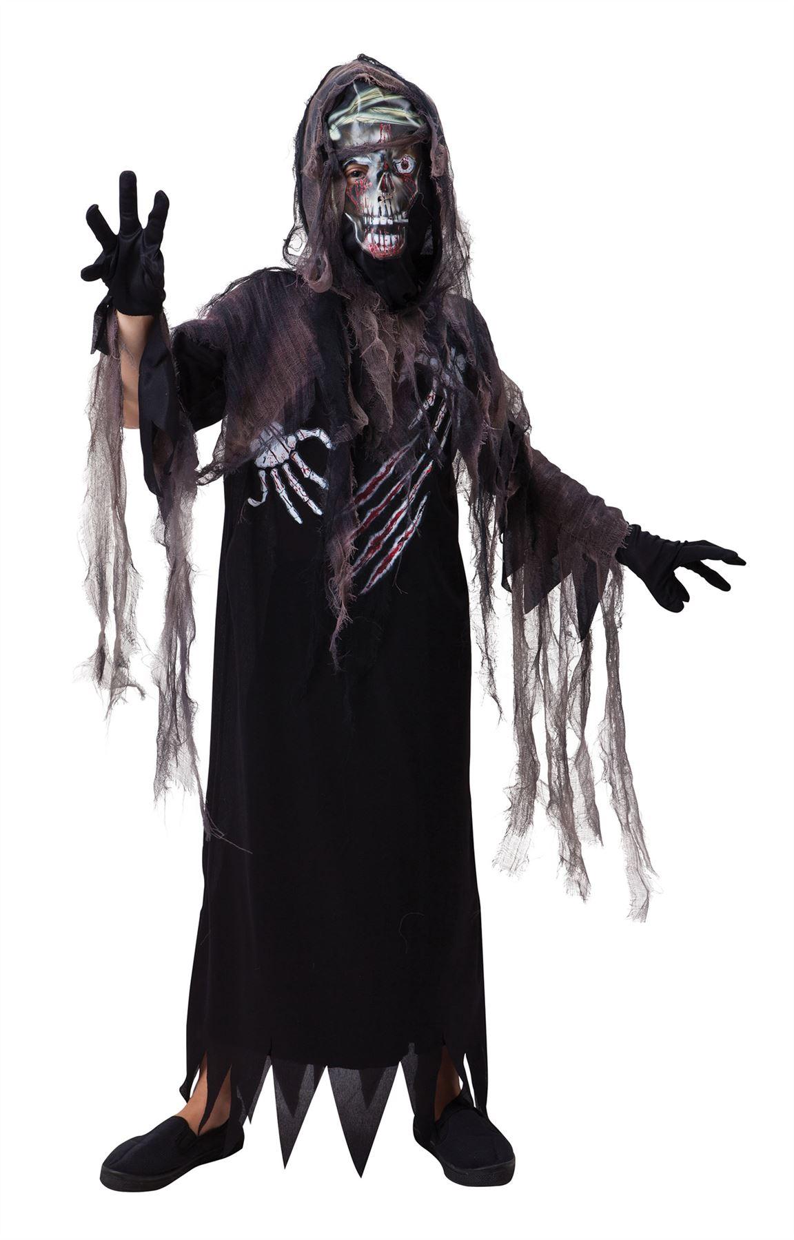 e47177635f7db6 Enfant terreur Reaper costumes enfants garçons filles Halloween Zombie  Ghost Déguisements. cliquez sur l image pour l agrandir