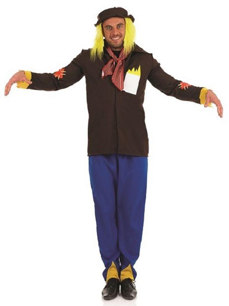 Adulto espantapjaros Halloween hombre WORZEL GUMMIDGE Mago de Oz