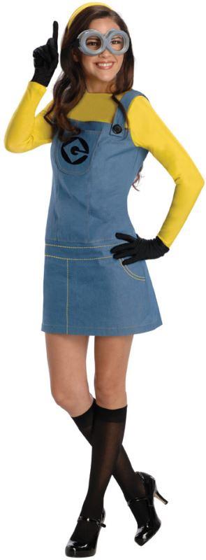 Official Ladies Adult Despicable Me Minion Fancy Dress Costume Outfit 52a862308