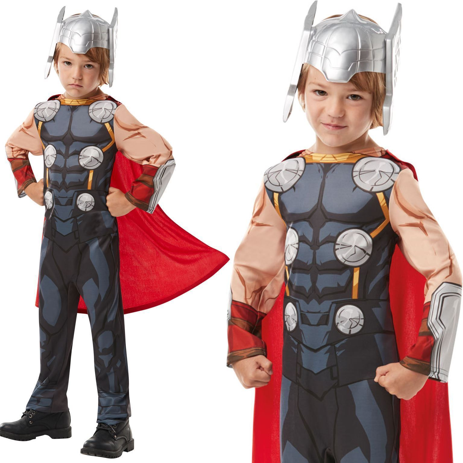 Details About Rubies Boys Thor Costume 640835