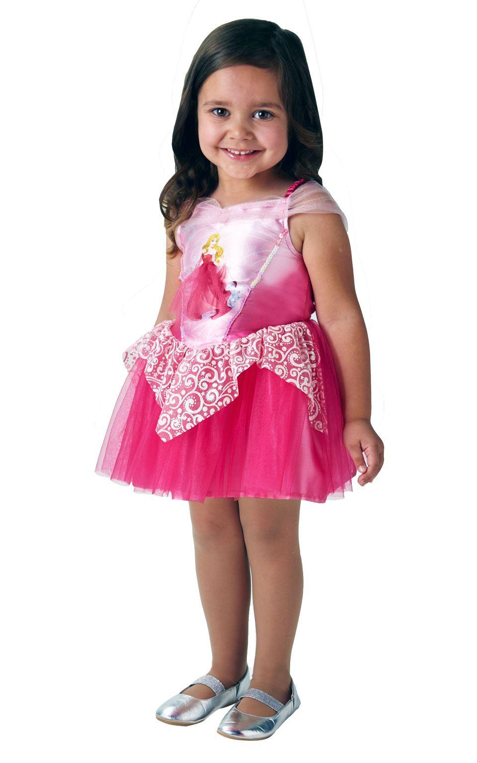 Bailarina Niñas Bella Durmiente Disfraz Princesa Disney disfraz ...