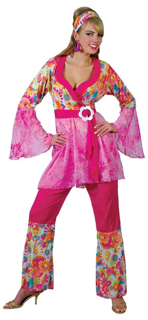 Hippie Costumes Ebay & Ladies-Hippie-60s-70s-Hippy-Flower-Fancy ...