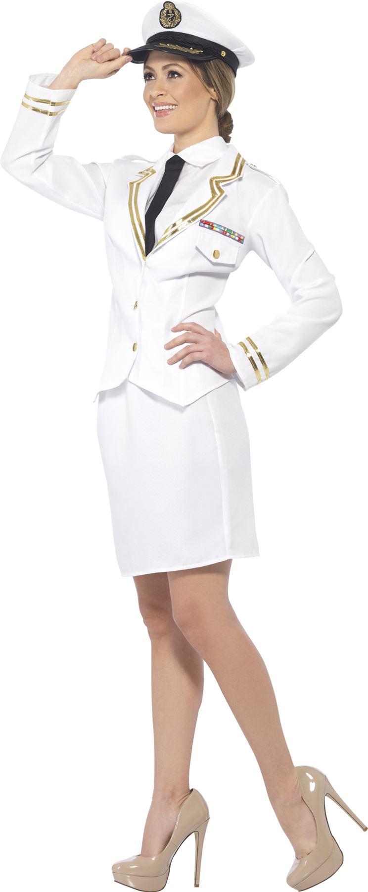 539453524 Blanco traje de oficial Naval militar marina marinero disfraz. haga clic en  la imagen para ampliarla