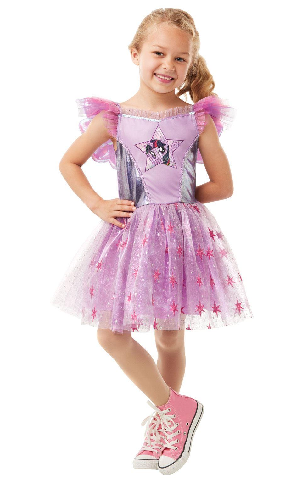de lujo para niñas Crepúsculo Brillo MY LITTLE PONY Disfraz Traje De ...
