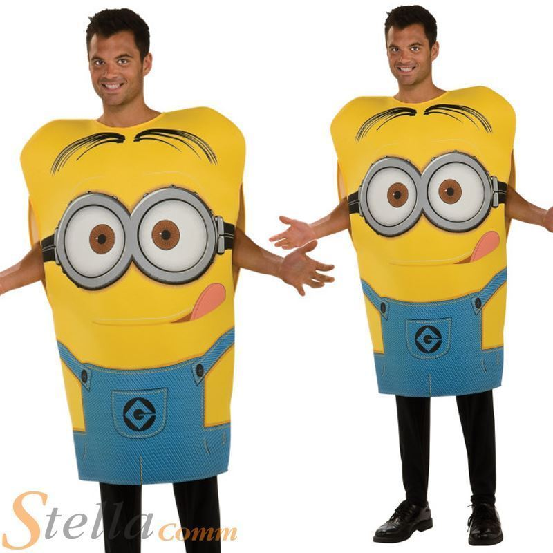 Despicable Me Minions ~1Onesie// All In One For Duvet Days//Fancy Dress Up Costume