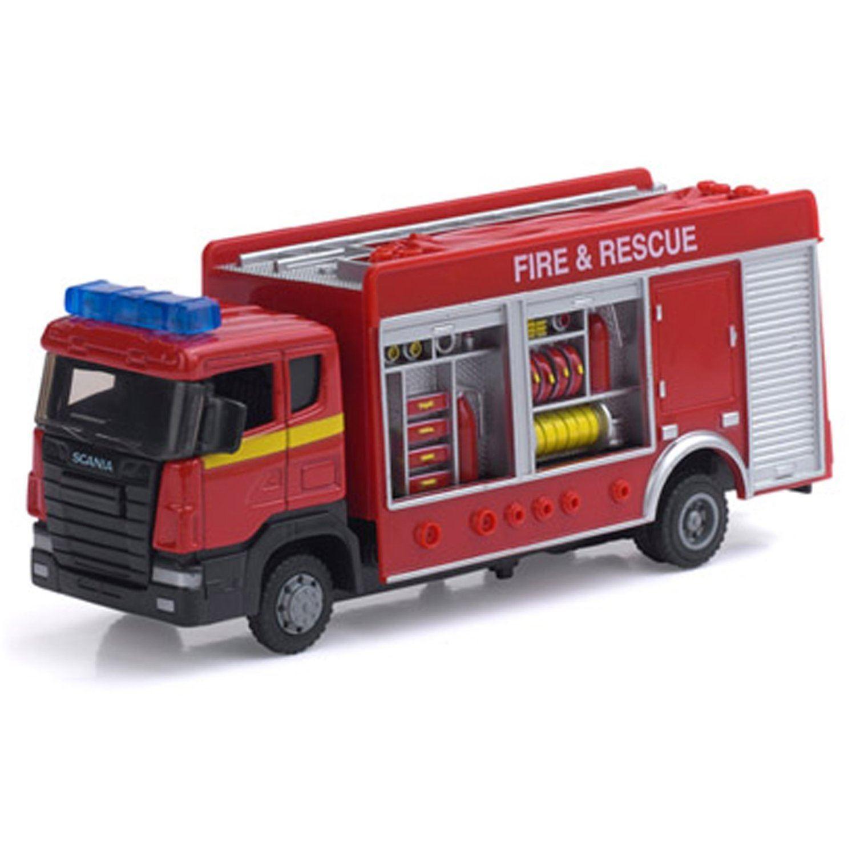 Peterkin Motor Zone Fire Engine Lights Amp Sounds Die Cast