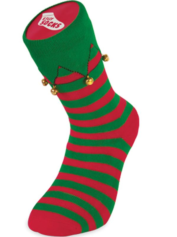 silly socks novelty cotton trainer sneakers sock funny - Funny Christmas Socks