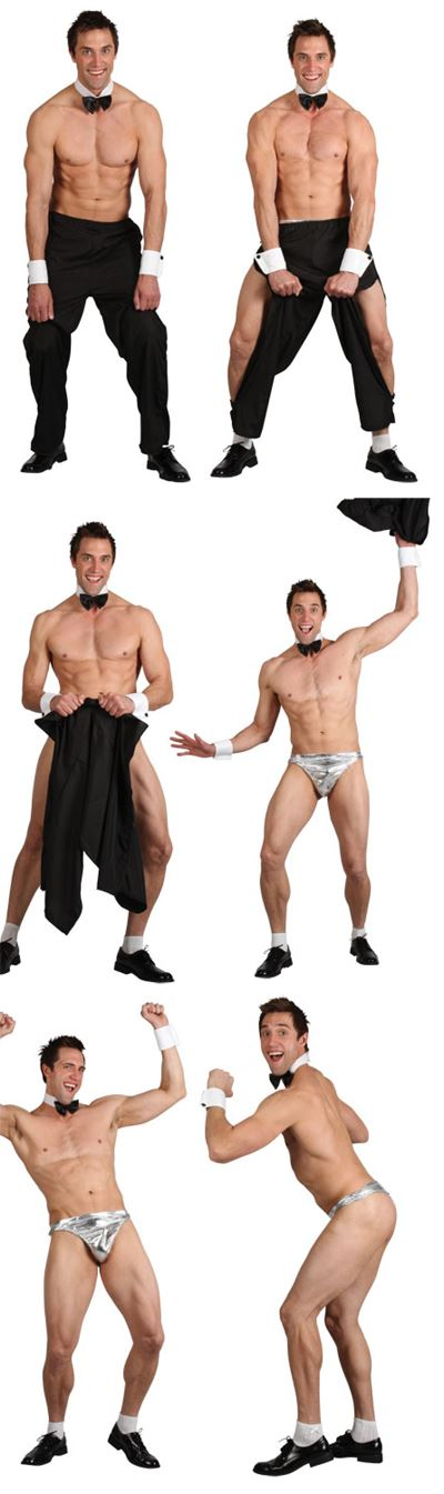hombre fiesta niño Stripper Jackass Disfraz para Adulto Despedida De ... 56f20411242