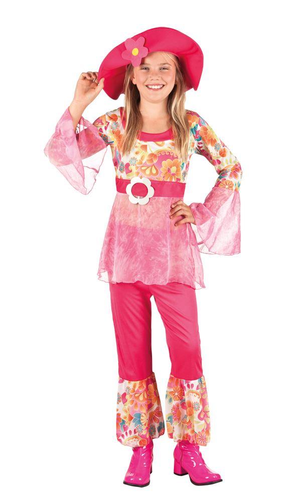 Girls-Hippy-Diva-Costume-Child-60s-70s-Hippie-  sc 1 st  eBay & Girls Hippy Diva Costume Child 60s 70s Hippie Fancy Dress Outfit | eBay