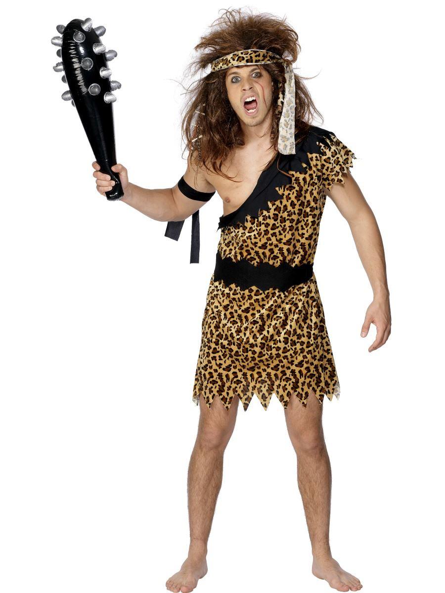 Mens caveman tarzan jungle fancy dress costume stag do cave man mens caveman tarzan jungle fancy dress costume stag solutioingenieria Images