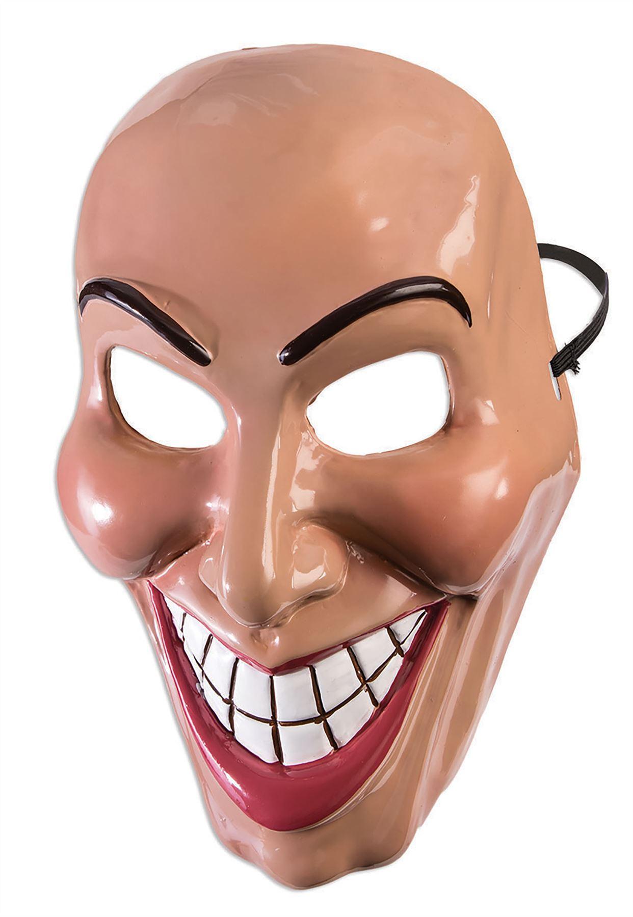 Adulte Evil Grin Masque Purge Sourire Déguisement Halloween