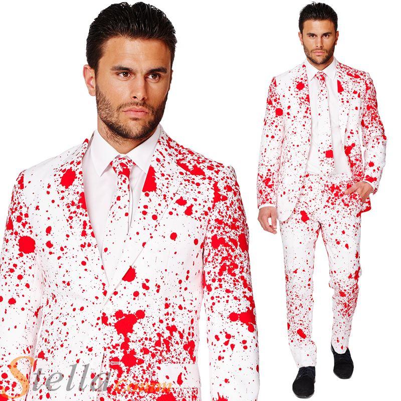 hombre sangriento Harry Opposuit Disfraz de Halloween Chaqueta ...