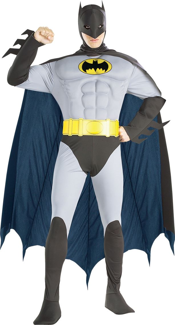 Think, adult batman costume deluxe