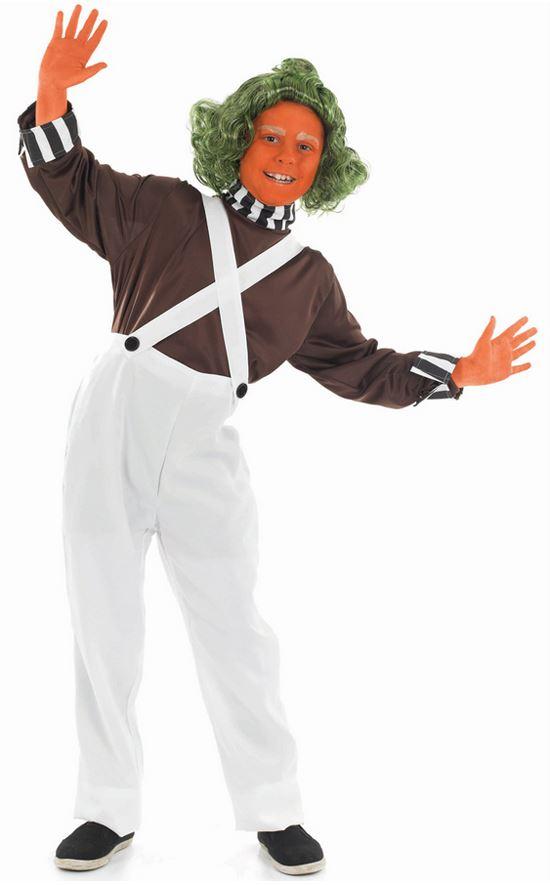 boys factory worker oompa loompa umpa lumpa halloween - Oompa Loompa Halloween