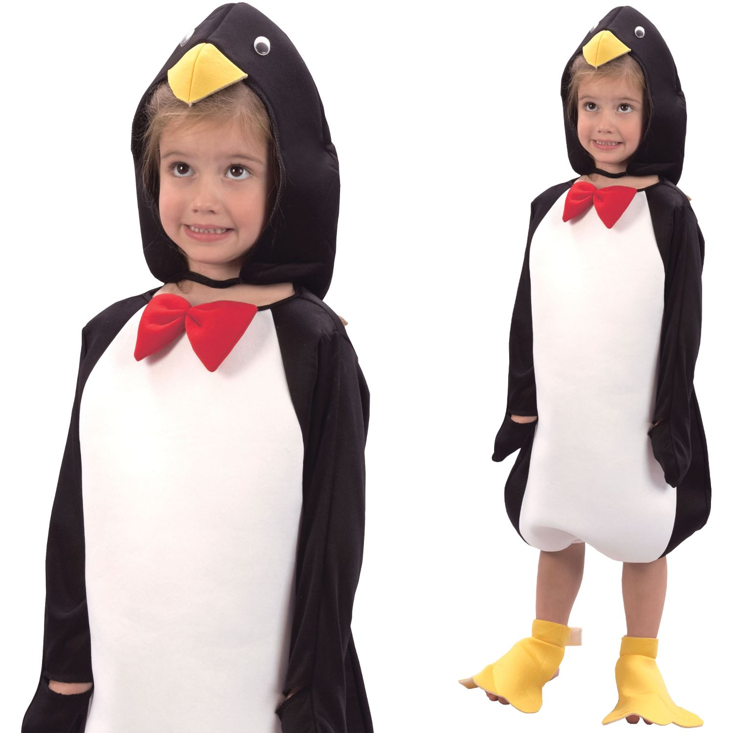 85ef1750 Details about Child Toddler Penguin Costume Boys Girls Animal Fancy Dress  Outfit