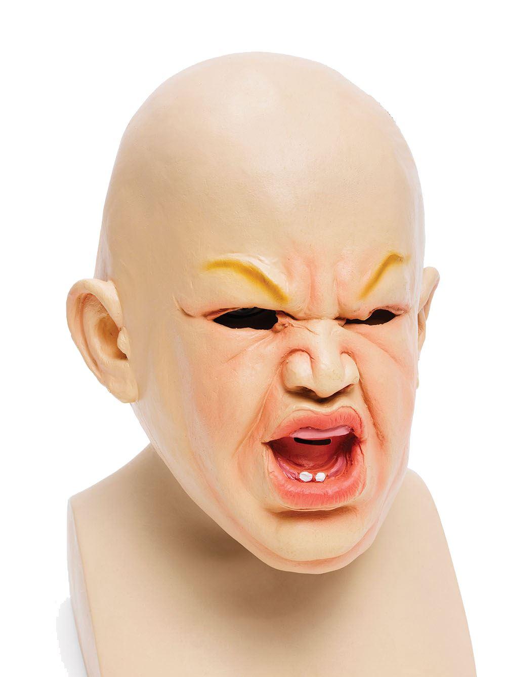 Unisex Rubber Baby Full Head Masks Fancy Dress Halloween Costume ...