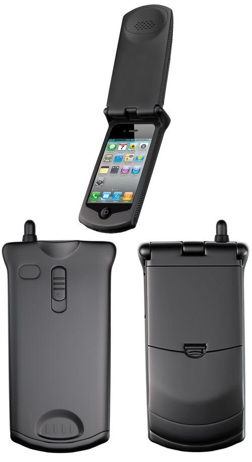 wholesale dealer b2f59 587da Détails sur Retro iPhone 4 4S Case 90's Motorola StarTAC Style Cover Flip  Case
