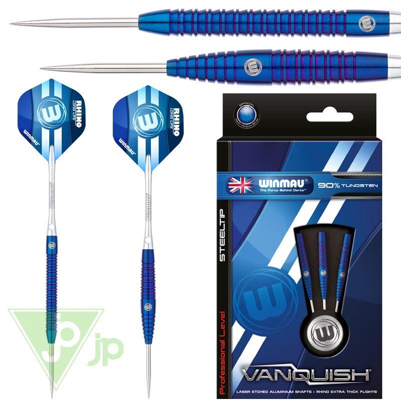 Winmau Vanquish 90/% tungsten Steel Tip Darts
