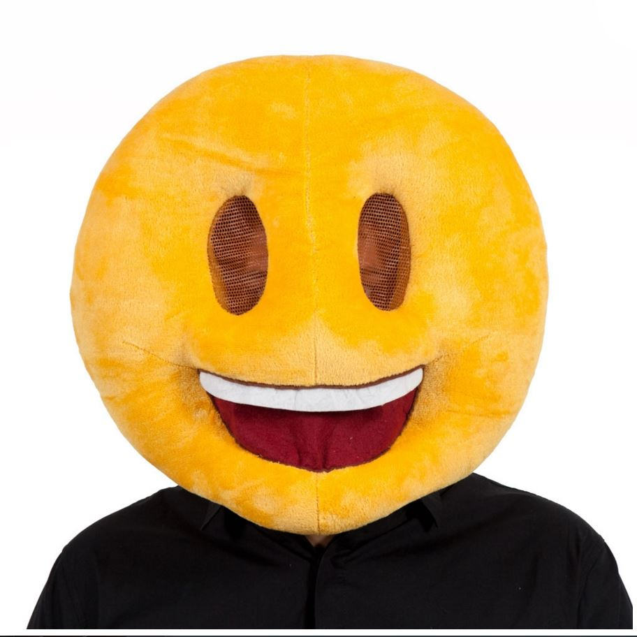 Adult face smiley