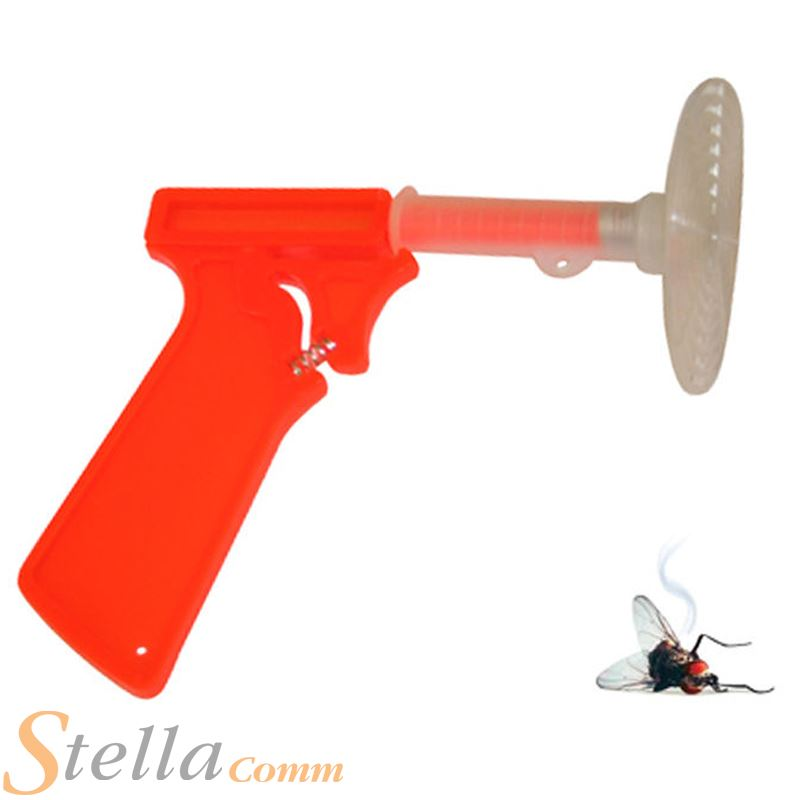 Fly Swatter Gun Spring Loaded Mosquito Insect Control Killer Swat 6001651020205 | eBay