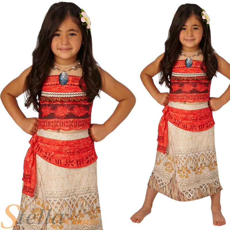 Girls deluxe moana costume disney hawaiian princess fancy dress girls deluxe moana costume disney hawaiian princess fancy dress outfit solutioingenieria Gallery