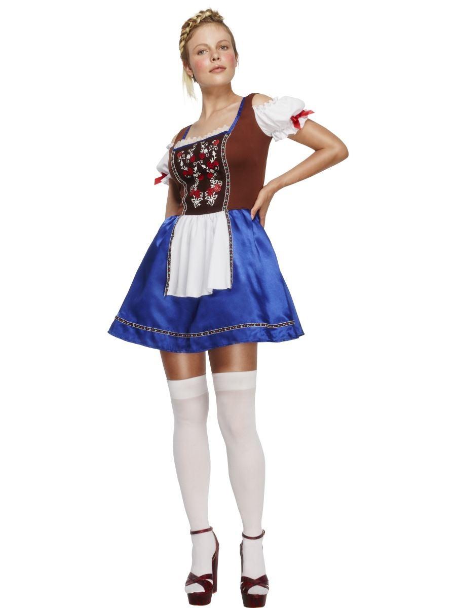 05c3434391e8e Mesdames Dirndl Oktoberfest allemand bière bavaroise Fille Costume de  déguisement Outfit